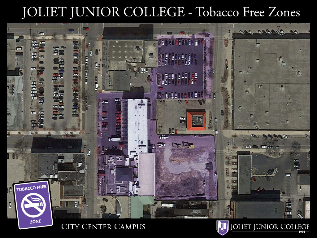 JJC City Center Smoke Free Zone photo map
